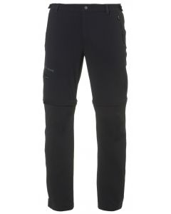 Farley Stretch T-Zip Pants II man Vaude Pants black