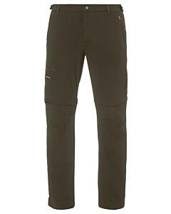 Pantalón Vaude Farley Stretch T-Zip Pants II hombre tarn (marrón)