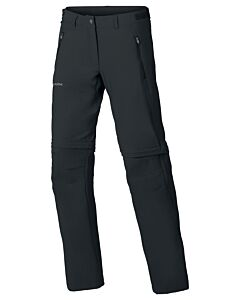 Pantalón Vaude Farley Stretch T-Zip Pants mujer negro