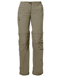 Farley ZO Pants IV woman Vaude Pants muddy (beige)