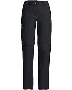Pantalón Vaude Farley ZO Pants V mujer negro