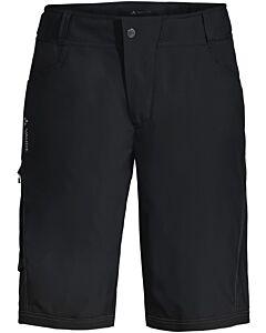 Pantalón Vaude Men's Ledro Shorts black (negro)