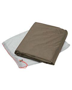 Floor protector for Vaude Power Sphaerio 2P bark tent (brown)