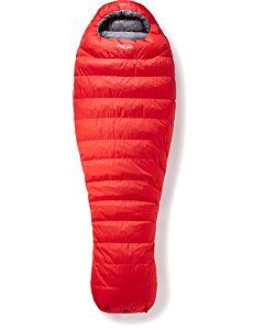 Rab Alpine Pro 600 sleeping bag fiery red