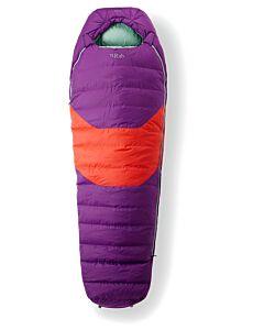 Rab Morpheus 3 Women's nightshade sleeping bag (purple)