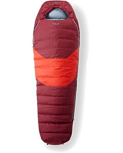 Rab Morpheus 4 sleeping bag maple (red)