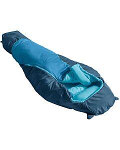 Vaude Alpli Adjust 400 SYN sleeping bag baltic sea (blue)