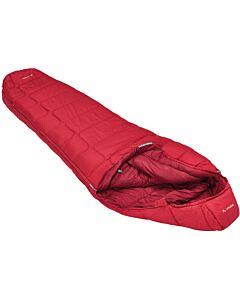 Vaude Sioux 1000 Syn sleeping bag dark indian red