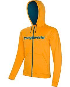 Sudadera Trangoworld Ripon naranja y azul