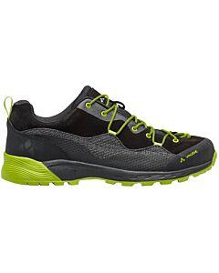 Zapatillas Vaude MTN Dibona Tech hombre phantom black (negro y verde)